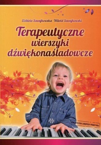 Terapeutyczne wierszyki dźwiękonaśladowcze - okładka książki