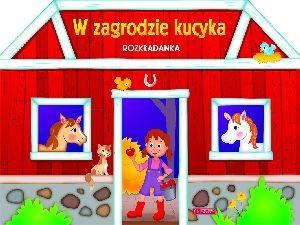 W zagrodzie kucyka (rozkładanka) - okładka książki