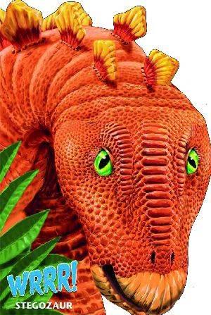 Wrrr! Stegozaur - okładka książki