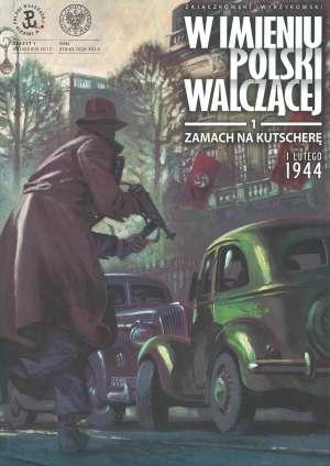 Zamach na Kutscherę - 1 lutego - okładka książki