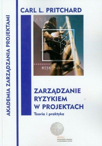 Zarządzanie ryzykiem w projektach. - okładka książki
