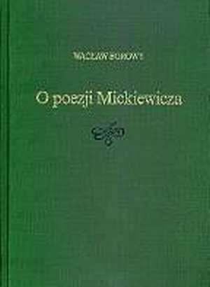 O poezji Mickiewicza