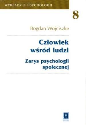 Człowiek wśród ludzi. zarys psychologii - okładka książki