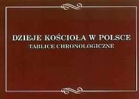 Dzieje Kościoła w Polsce. Tablice chronologiczne - okładka książki
