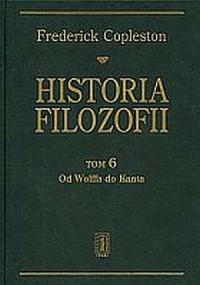 Historia filozofii. Tom 6. Od Wolffa do Kanta - okładka książki