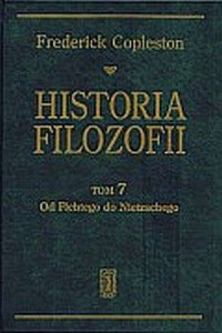 Historia filozofii. Tom 7. Od Fichtego do Nietzschego - okładka książki