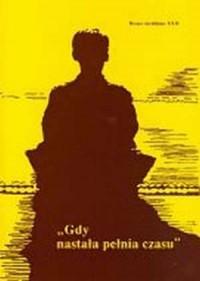 Homo Meditans. Tom XXII. Gdy nastała pełnia czasu - okładka książki