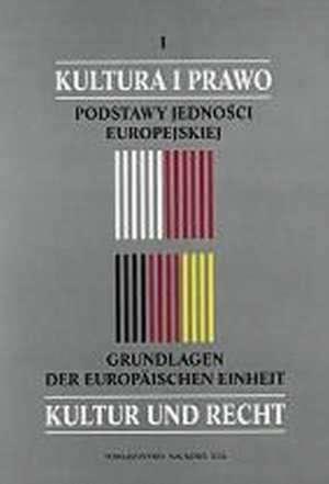 Kultura i prawo. Materiały I międzynarodowej - okładka książki