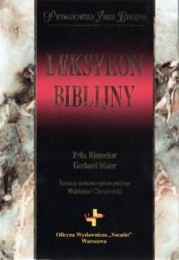 Leksykon biblijny - Fritz Rienecker - okładka książki