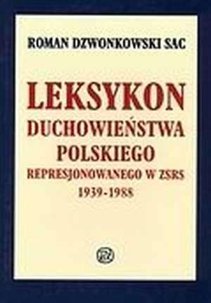 Leksykon duchowieństwa polskiego - okładka książki