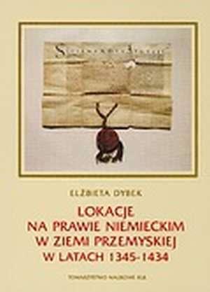 Lokacje na prawie niemieckim w - okładka książki