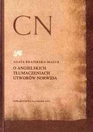 O angielskich tłumaczeniach utworów - okładka książki