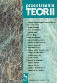 Przestrzenie Teorii 3/4 / 2004 - okładka książki