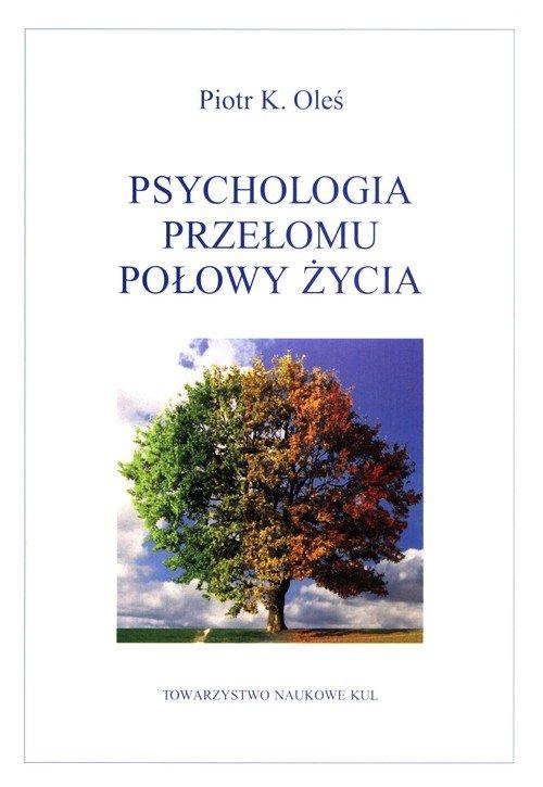 Psychologia przełomu połowy życia - okładka książki