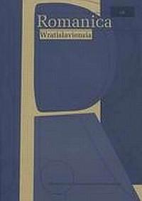 Romanica Wratislaviensia LII - okładka książki