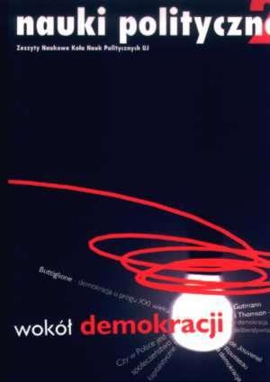 Wokół demokracji. Nauki polityczne. - okładka książki