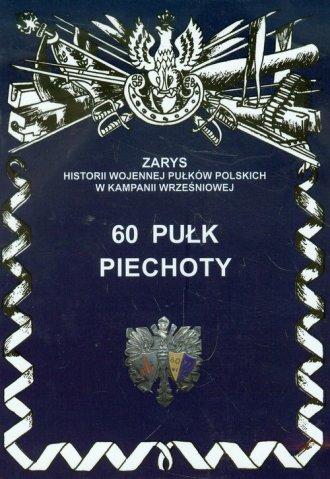 60 pułk piechoty - okładka książki