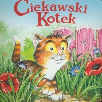Ciekawski kotek - okładka książki