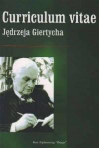 Curriculum vitae Jędrzeja Giertycha - okładka książki