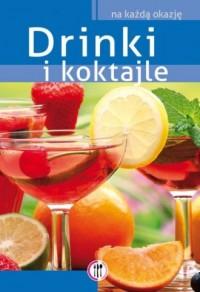 Drinki i koktajle - okładka książki