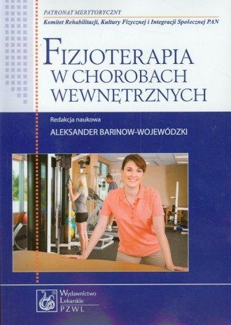 Fizjoterapia w chorobach wewnętrznych - okładka książki