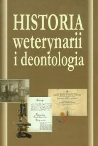 Historia weterynarii i deontologia - okładka książki
