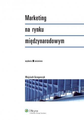 Marketing na rynku międzynarodowym - okładka książki