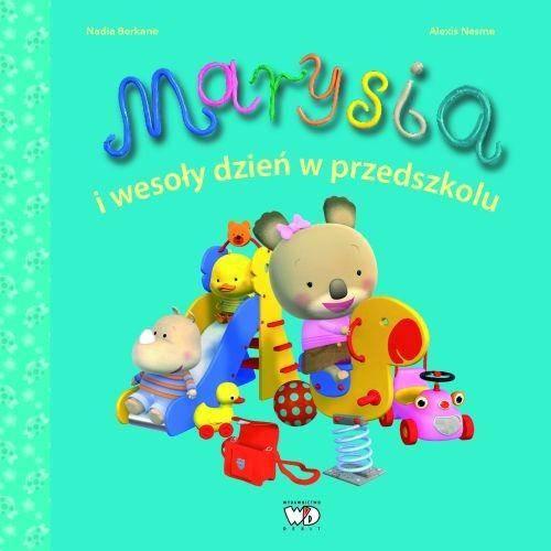 Marysia i wesoły dzień w przedszkolu - okładka książki
