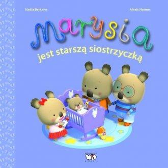 Marysia jest starszą siostrzyczką - okładka książki