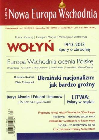 Nowa Europa Wschodnia nr 1/2013 - okładka książki