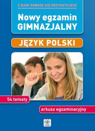 Nowy egzamin gimnazjalny. Język - okładka podręcznika