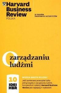 O zarządzaniu ludźmi. 10 idei HBR - okładka książki