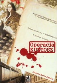 Operacja Kustosz - okładka książki