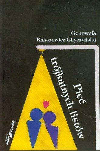 Pięć trójkątnych listów - okładka książki