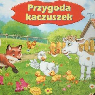 Przygoda kaczuszek - okładka książki