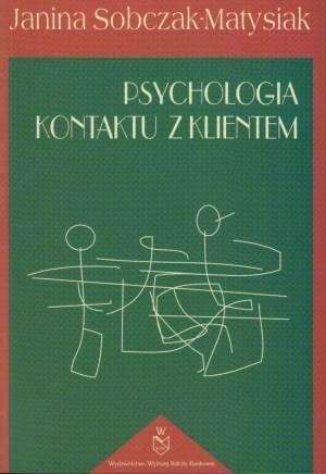 Psychologia kontaktu z klientem - okładka książki