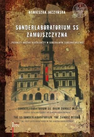 Sonderlaboratorium SS. Zamojszczyzna - okładka książki