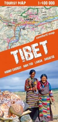 Tybet, Mount Everest, Nam Tso, - okładka książki