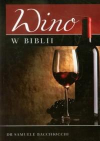 Wino w Biblii - okładka książki