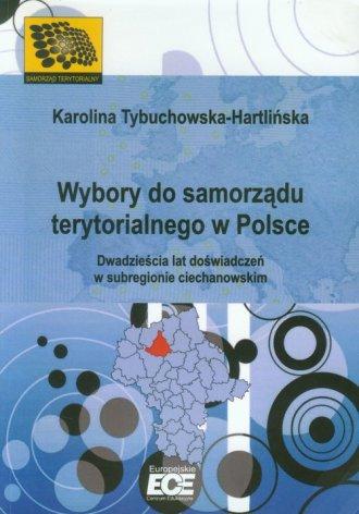 Wybory do samorządu terytorialnego - okładka książki