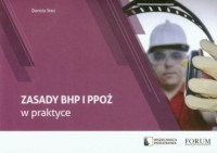 Zasady BHP i PPOŻ w praktyce - okładka książki