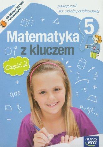 podr�cznik -  Matematyka z kluczem. Klasa 5. Szko�a podstawowa. Podr�cznik cz. 2 - Marcin Braun