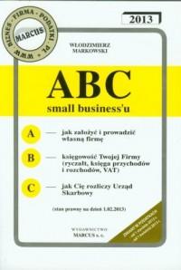 ABC small biznessu 2013 - okładka książki