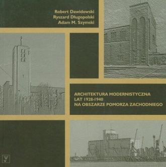 Architektura modernistyczna lat - okładka książki