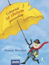 Człowiek ze złotym parasolem - okładka książki