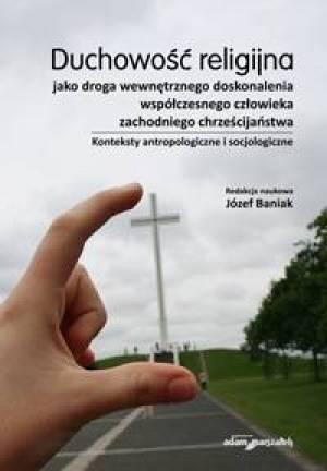 Duchowość religijna jako droga - okładka książki
