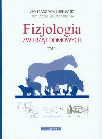 Fizjologia zwierząt domowych. Tom - okładka książki