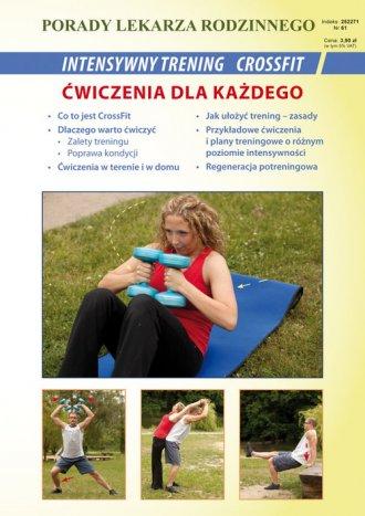 Intensywny trening CrossFit. Ćwiczenia - okładka książki