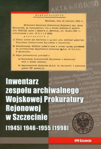 Inwentarz zespołu archiwalnego - okładka książki