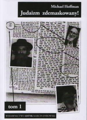 Judaizm zdemaskowany - w oparciu - okładka książki